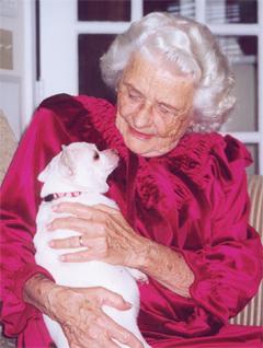 Senior-and-dog
